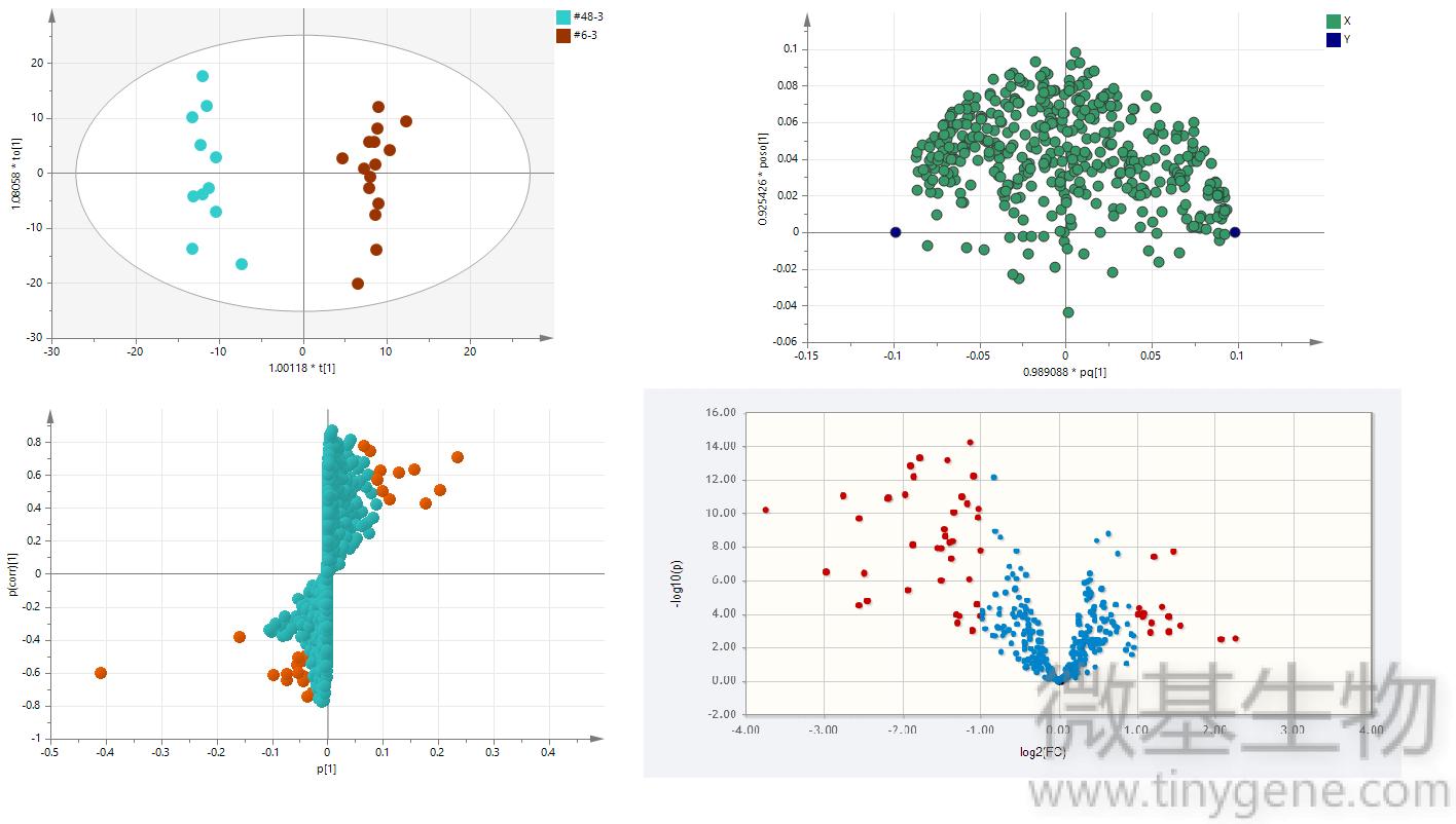 图1下,PCA,PLS-DA,分析,多元,组图,整体,样本特性